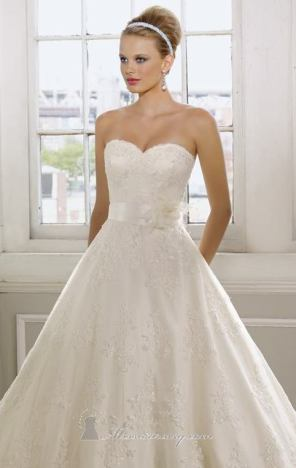 احدث فساتين زفاف - 2013 - 10