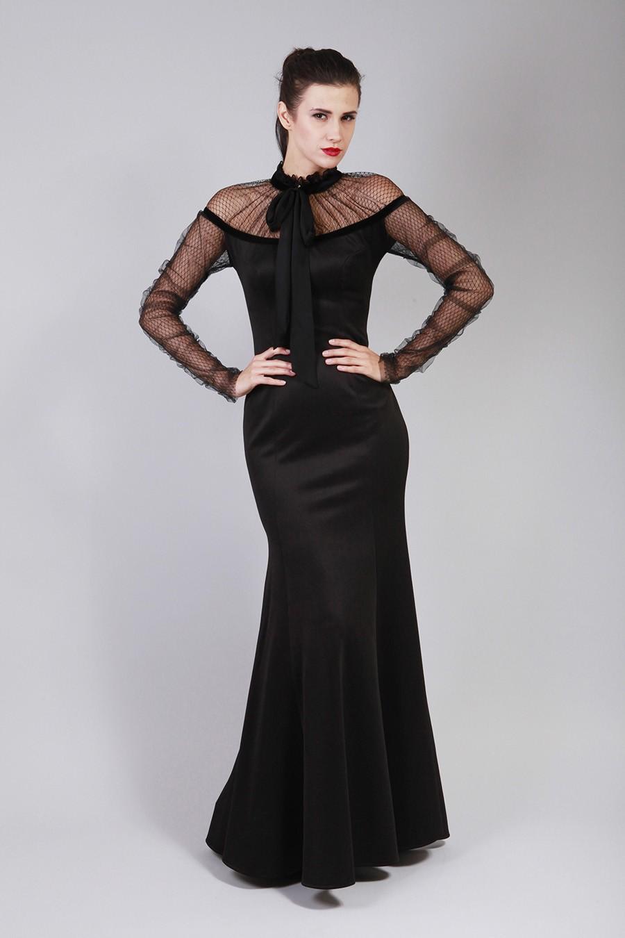 d437a9c560baf فساتين طويلة 2014 – 9 – Arab Fashion
