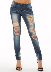 بناطيل جينز صيف 2014 للبنات - 5