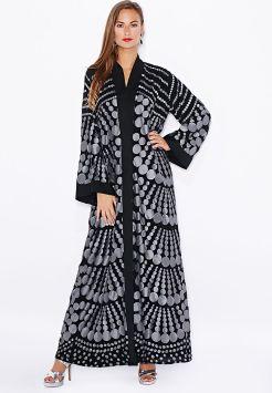 c7a060a253793 Arab Fashion — احدث عبايات خليجية روعه موديل 2015