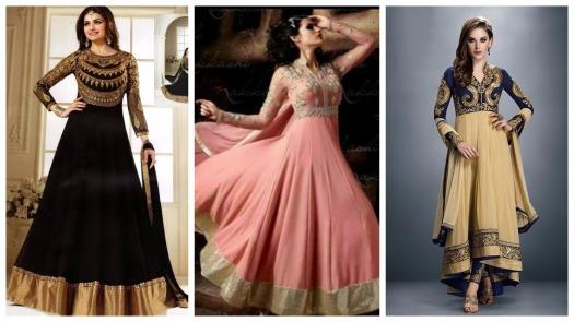 تسوق و شراء ملابس و فساتين هندية للبيع اون لاين